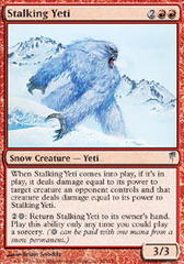 Stalking Yeti - Foil