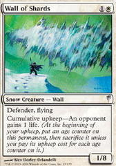 Wall of Shards - Foil