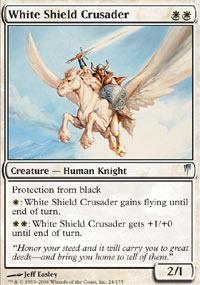 White Shield Crusader - Foil