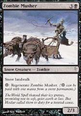 Zombie Musher - Foil
