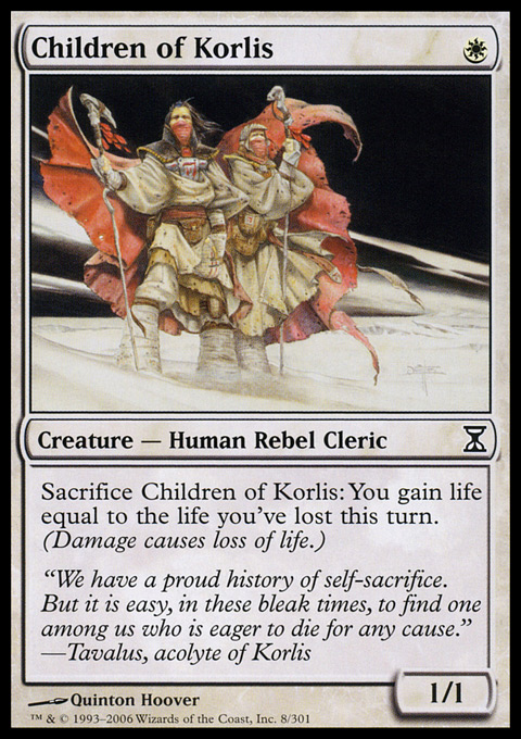 Children of Korlis - Foil