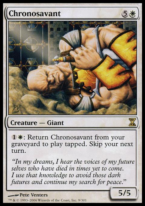 Chronosavant - Foil