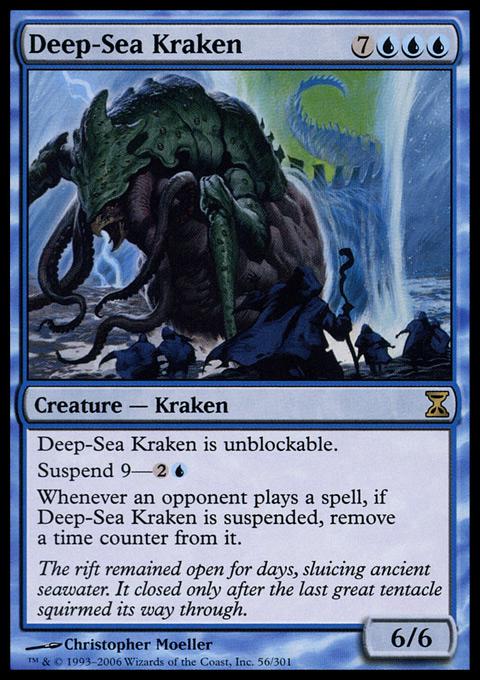 Deep-Sea Kraken - Foil