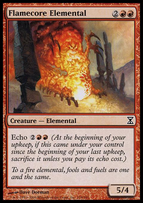 Flamecore Elemental - Foil