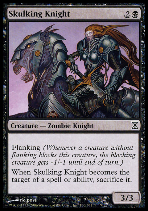 Skulking Knight - Foil