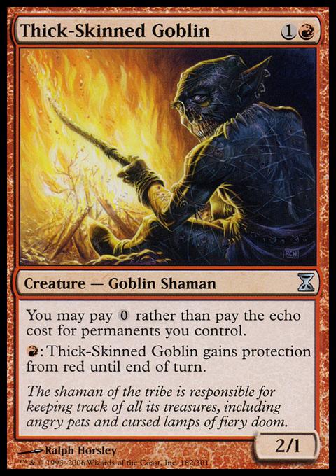 Thick-Skinned Goblin - Foil