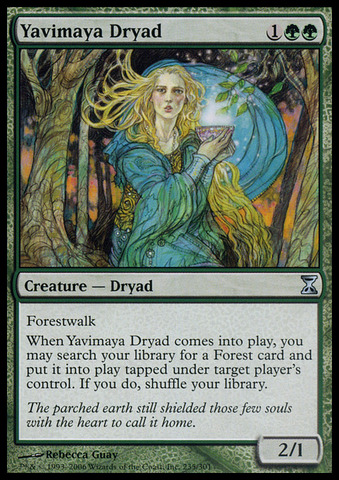Yavimaya Dryad - Foil