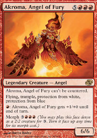 Akroma, Angel of Fury - Foil