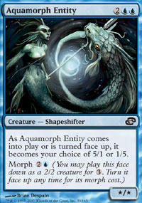 Aquamorph Entity - Foil
