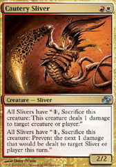 Cautery Sliver - Foil on Channel Fireball