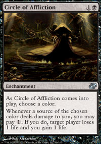 Circle of Affliction - Foil