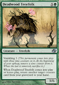 Deadwood Treefolk - Foil