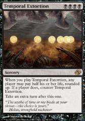 Temporal Extortion - Foil