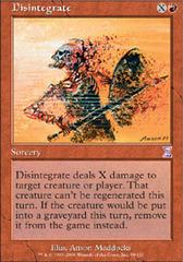 Disintegrate - Foil (TSB)
