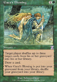 Gaeas Blessing - Foil