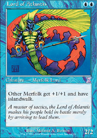 Lord of Atlantis - Foil