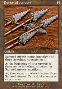 Serrated Arrows - Foil