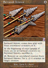Serrated Arrows - Foil (TSB)