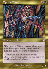 Spined Sliver - Foil