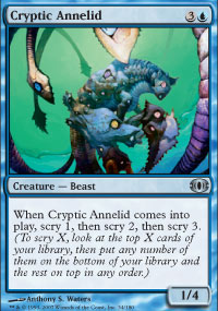 Cryptic Annelid - Foil