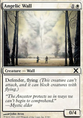 Angelic Wall - Foil on Channel Fireball