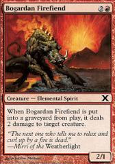 Bogardan Firefiend - Foil