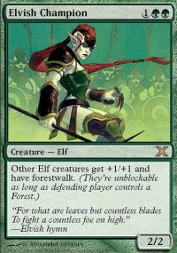 Elvish Champion - Foil