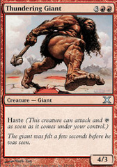 Thundering Giant - Foil