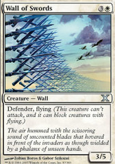 Wall of Swords - Foil