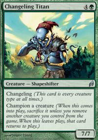 Changeling Titan - Foil
