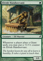 Elvish Handservant - Foil