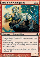 Fire-Belly Changeling - Foil