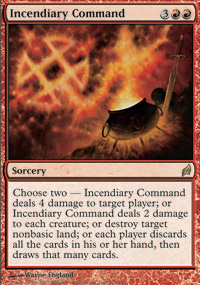 Incendiary Command - Foil