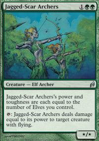 Jagged-Scar Archers - Foil