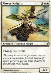 Plover Knights - Foil