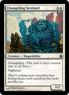 Changeling Sentinel - Foil