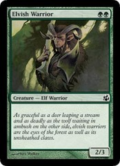 Elvish Warrior - Foil on Channel Fireball