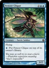 Fencer Clique - Foil on Channel Fireball