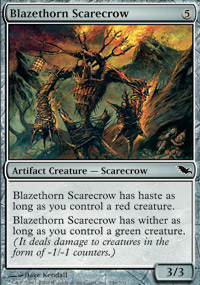 Blazethorn Scarecrow - Foil