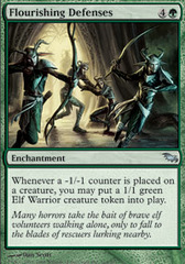 Flourishing Defenses - Foil