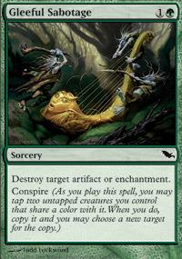 Gleeful Sabotage - Foil