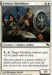 Kithkin Shielddare - Foil