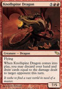 Knollspine Dragon - Foil