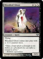 Bloodied Ghost - Foil on Channel Fireball
