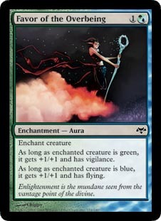 Favor of the Overbeing - Foil