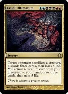 Cruel Ultimatum - Foil