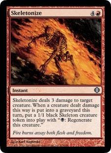 Skeletonize - Foil