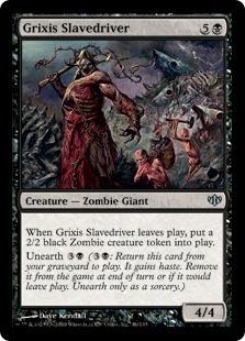 Grixis Slavedriver - Foil