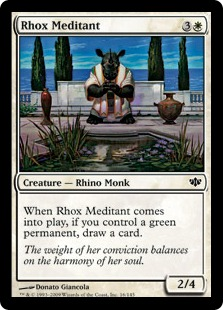 Rhox Meditant - Foil