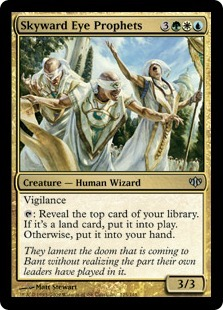 Skyward Eye Prophets - Foil